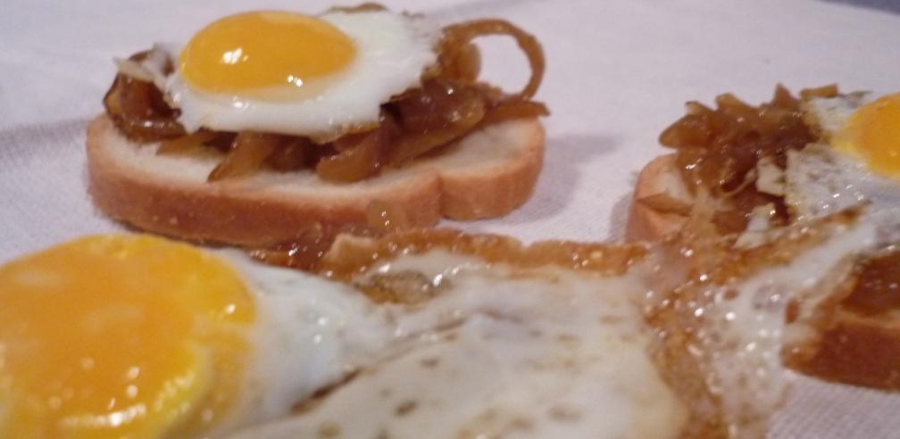 Huevos de codorniz. Detalle